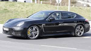 porsche hatchback black 2013 porsche panamera to get twin turbo v6 v8 tdi report
