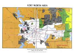 Dallas Fort Worth Area Map by Atlas Of Texas Map Collection Ut