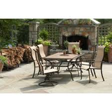 Martha Stewart Lake Adela Patio Furniture by Martha Stewart Cardona 7 Pc Patio Dining Set As Is Special The