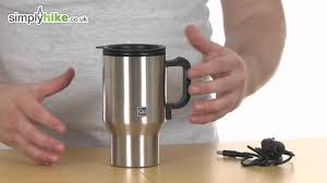 Heated Coffee Mug by Design Go Heated Mug Www Simplyhike Co Uk Youtube