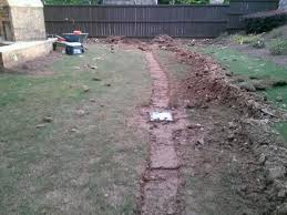 drain work with neighborhood lawn care llc