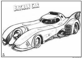 batman car coloring pages print kids coloring
