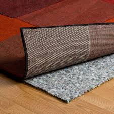 How To Stop Rugs Slipping On Laminate Floors Trafficmaster Carpet 56 In X 86 In Non Slip Safety Rug To Carpet