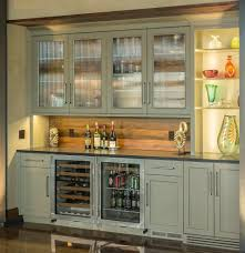 Rustic Bar Cabinet Appealing Beverage Refrigerator Ideas Pic For Bar Cabinets