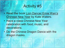 lion dancer book culture by melinda pace and sexton ed ppt