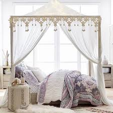 Canopy Bedding Amazing Best 25 Canopy Bed Frame Ideas On Pinterest Inside