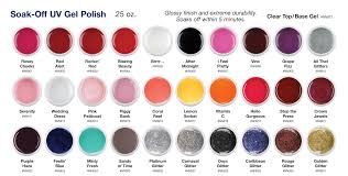 colors of gel nail polish awesome nail
