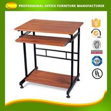 Flat Pack Computer Desk Customize Cheap Flat Pack Laptop Stand Computer Table Design