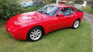 turbo porsche red 1986 porsche 944 turbo kewlhunter com
