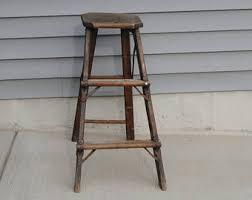 vintage step ladder etsy