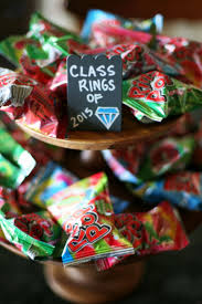 graduation themed candy dessert bar clever party candy