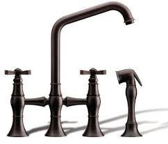 Bridge Faucet For Kitchen Kitchen Bridge Faucet From Rubinet The Hexis Transitional