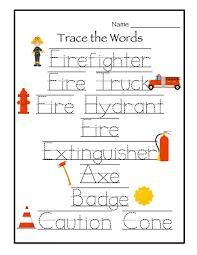 ideas about firefighter worksheets for kindergarten easy