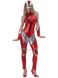 Pepper Halloween Costume Iron Man Costume Women Pepper Potts Superhero Rescue
