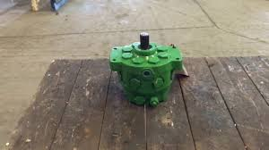 ar94661 remanufactured john deere hydraulic pump youtube