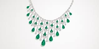 emerald emerald waterfall necklace nirav modi