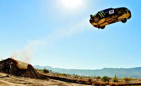 subaru rally jump how ken block jumps a subaru impreza wrx sti u2013 news u2013 car and driver