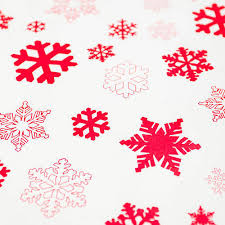 cheap christmas wrapping paper snowflakes white christmas wrapping paper set by