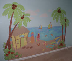 paint by numbers wall mural home design ideas beach scene paint by number wall mural part 55