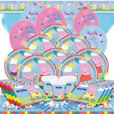 peppa pig party buy peppa pig party pack deluxe party for 16 from our all party