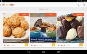 application recettes de cuisine ptitchef recettes de cuisine applications android sur play