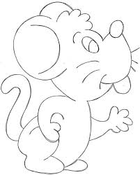 imagenes de ratones faciles para dibujar un ratón juguetón dibujalia dibujos para colorear animales