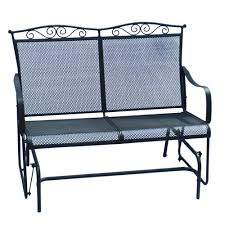 Backyard Creations Furniture - backyard creations wrought iron outdoor glider at menards