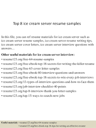 server resume exle top 8 server resume sles 1 638 jpg cb 1432806812