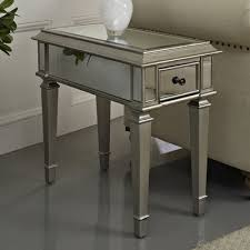 mirrored pyramid living room accent side end table mirrored pyramid living room accent side end table target for tables