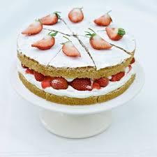 strawberries and cream sponge cake recipes delia online