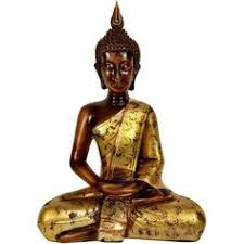 Buddha Home Decor Statues Thai Gilt Buddha Statue 165 Liked On Polyvore Featuring Home