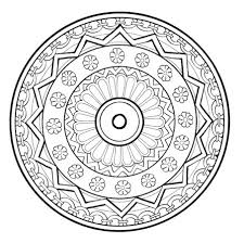 relieve daily stresses beautiful free mandala coloring pages