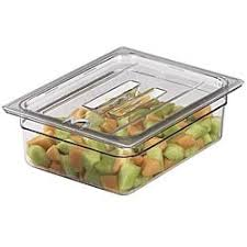 Cambro Round Food Storage Container Sets - cambro 20 gallon clear food storage container free shipping