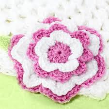 Chic Flower Flower Crochet Pattern Crochet And Knit