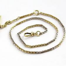 vintage watch chain necklace images Best gold filled pocket watch chain products on wanelo jpg