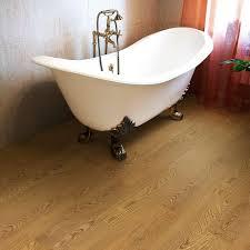 bathroom flooring vinyl ideas trafficmaster allure 6 in x 36 in autumn oak luxury vinyl plank