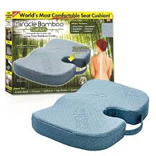 Orthopaedic Seat Cushion Alphabet Deal Miracle Bamboo Cushion Orthopedic Seat Cushion