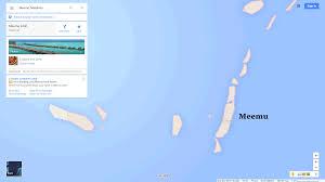 Map Of Maldives Meemu Map