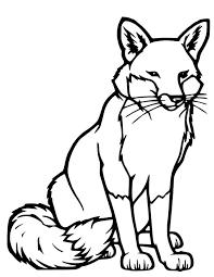 20 dessins de coloriage renard a imprimer gratuit à imprimer