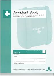 accident reporting book accident report book sample