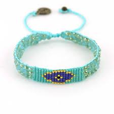 handmade bracelet designs images Oceans deep seafoam green seed bead handmade bracelet jpg