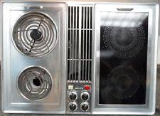 36 Inch Downdraft Electric Cooktop Jenn Air 36