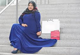 Baju Muslim Ukuran Besar 10 model baju muslim ukuran besar untuk wanita bertubuh gemuk baju
