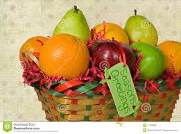 christmas fruit baskets christmas fruit basket royalty free stock photos image 17406388