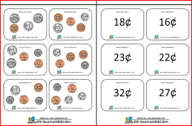 free worksheets printable worksheets counting canadian money
