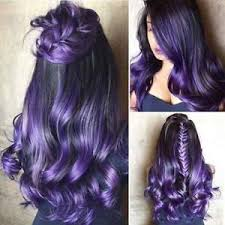 purple hair extensions 3 pcs womens ombre purple t1b purple human hair extensions wefts