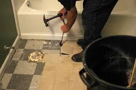 floor removing tile floor desigining home interior