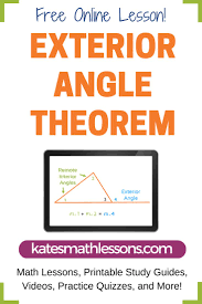 Interior And Exterior Angles Worksheet Die Besten 10 Interior And Exterior Angles Ideen Auf Pinterest
