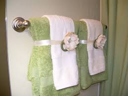 hand towels for your guest bathroom