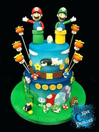 mario cake topper mario cake decorations best e images on and toppers